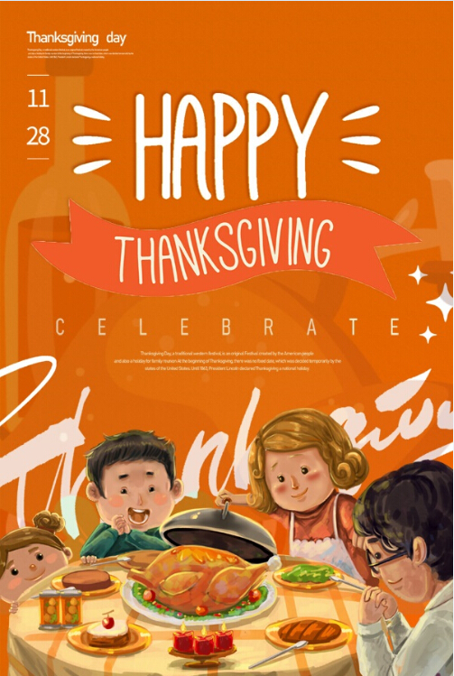 Warm wishes at thanksgiving day!